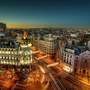 Officially moving to Madrid.